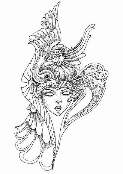 Pointillism Coloring Pages Radomir Adults Drawing Behance