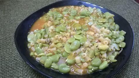cucinare le fave fresche ricetta zuppa o minestra di fave fresche