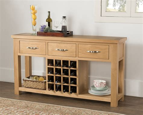 Wine Sideboard by Open Sideboard With Wine Rack 58 20 Papaya Trading