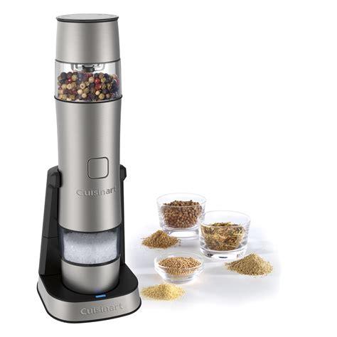cuisinart rechargeable salt pepper spice mill reviews
