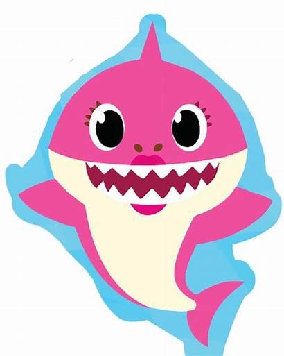 Shark Clipart Pinkfong Mommy Birthday Sharks Doo