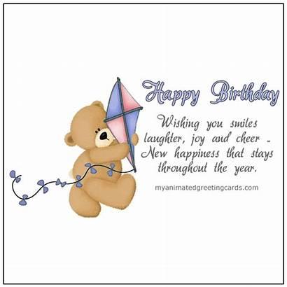 Animated Birthday Cards Smiles Wishing Greeting Card