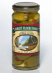 pimiento stuffed queen olive forest floor foods With forest floor foods