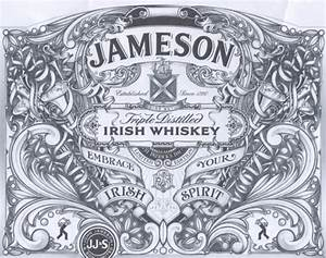 jameson irish whiskey st patrick39s day 2013 label With jameson whiskey label template