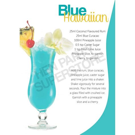 blue hawaii drink ingredients blue hawaiian cocktail recipe free hen party pack with every order