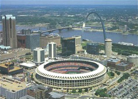 st louis busch stadium aerial photo prints