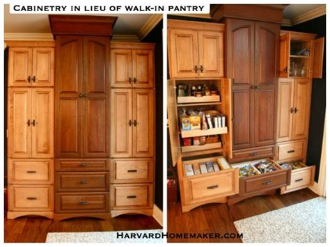 organize a small kitchen an alternative to a walk in pantry cabinetry opens up 3776