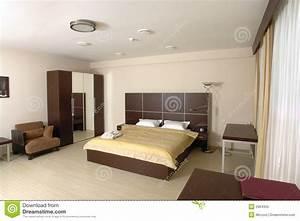 chambre a coucher moderne photo libre de droits image With photo des chambres a coucher