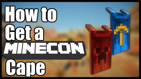 How To Get A Minecon Cape Free (100% Legit, No Mods