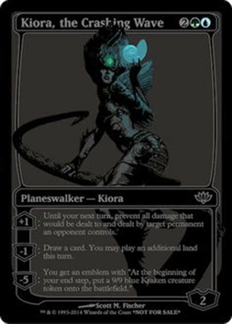 kiora the crashing wave deck ideas 1000 images about magic the gathering on