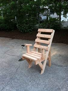 Diy 2x4 outdoor chair furniture pinterest for Homemade 2x4 furniture