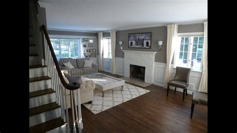 interior home renovations colonial home renovation before and after youtube