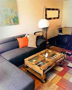 Why we love pallet projects and you should too for Coffee table with wheels and storage