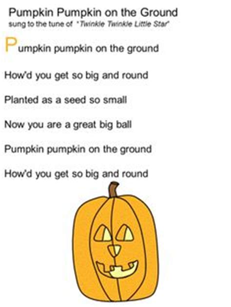quot i m a pumpkin quot song to the tune of quot i m a 196 | cac55a31dbd6d085b8878e04bcc6f36c halloween songs preschool halloween