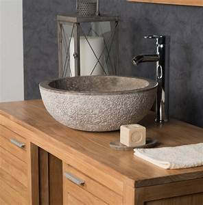 Grey, Polished, Stone, Sink