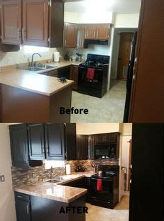 maple kitchen cabinets photos upgraded kitchen espresso stained cabinets added 7070