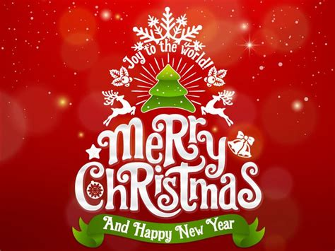 merry christmas and happy new year wishes 2018