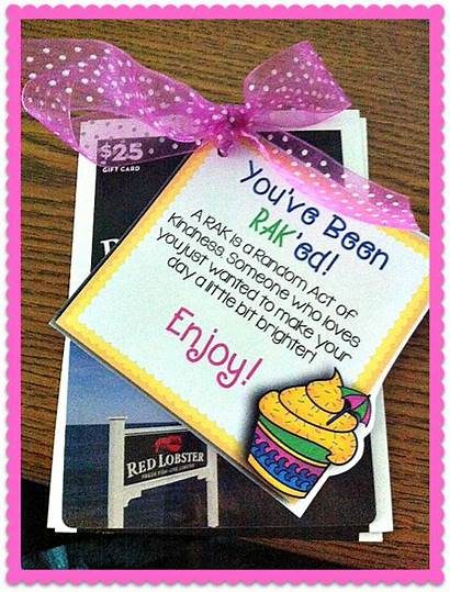 Kindness Acts Random Grade Messages Days Gifts