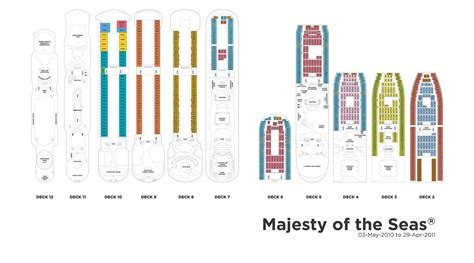 majesty of the seas deck plan images