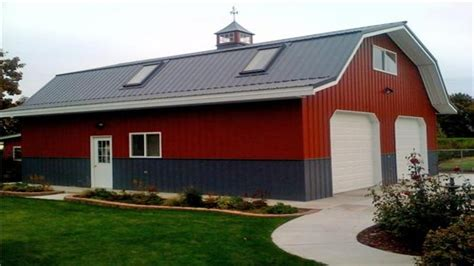 97 pole barn with living quarters apartments garage