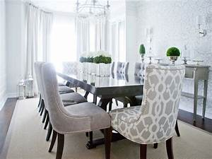 Gray Velvet Dining Chairs Transitional Room Lux Decor
