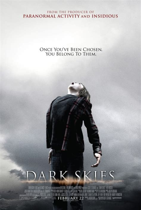 dark skies  poster    imp awards