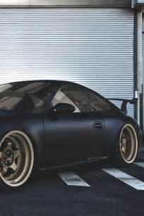 Matte Black Porsche