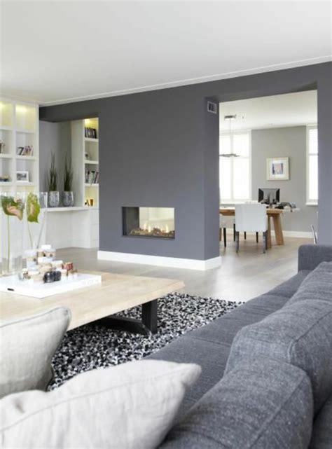 farbgestaltung wohnzimmer grau wandfarbe grautöne im einklang mit der mode bleiben