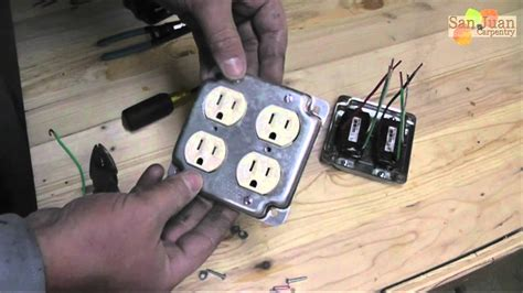 Outlet Receptacle Wire How Youtube