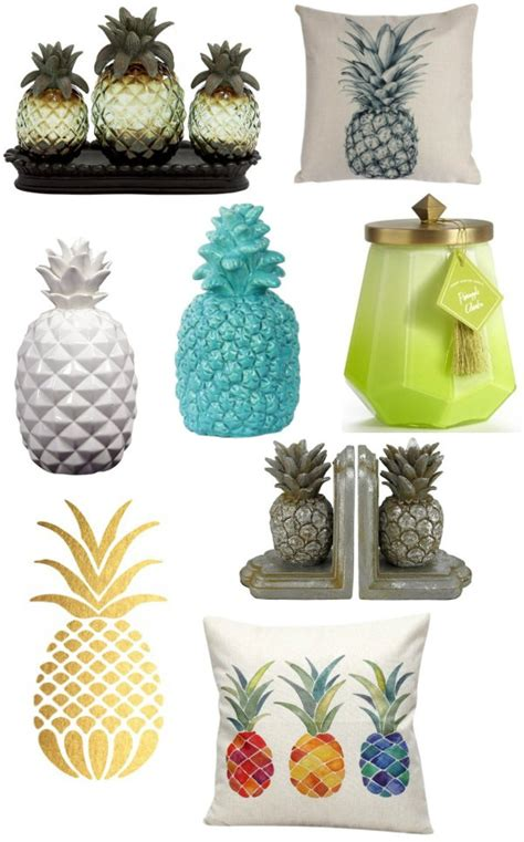 pineapple home decor pineapple galore pineapple themed products home