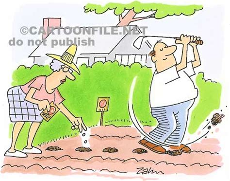 Golf Cartoons / Golfing Cartoon Humor