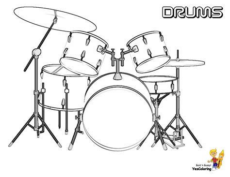 coloring set musical drums coloring drums free musical drum kits