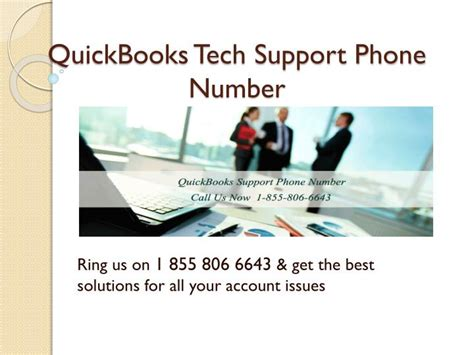 quickbooks tech support phone number ppt 855 806 6643 quickbooks support phone number