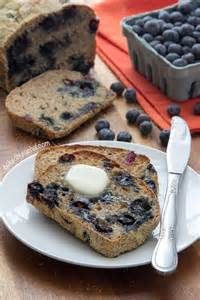 Blueberry Banana Bread English Muffin