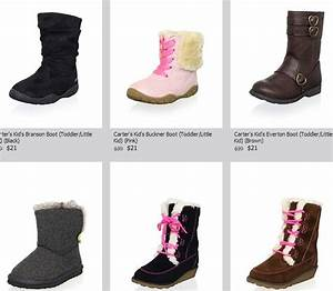 Girls Carter's name brand boots only $21 (was $39) Shipped ...