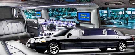 Large Limo by Stretch Limo 6 Passengers Boston Limousine Lincoln Stretch
