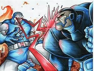 Darkseid vs apocalypse | crossovers | Pinterest | Apocalypse