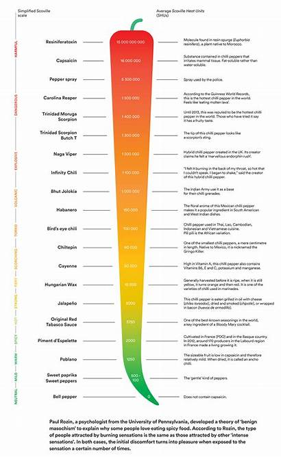 Scoville Scale Pepper Alimentarium Echelle Peppers Does