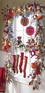 Fenster Weihnachtlich Gestalten : fensterdeko mit weihnachtskugeln my blog ~ Lizthompson.info Haus und Dekorationen