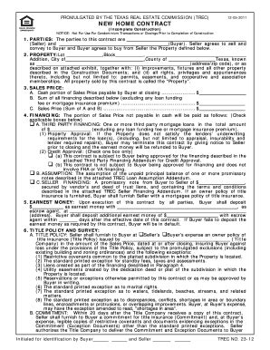 texas real estate forms fillable texas real estate sales contract fill online printable