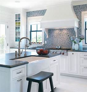 Kitchen for Kitchen colors with white cabinets with steve mcqueen wall art