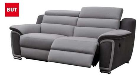 canapé relax 2 places canapé but pour un salon simple et moderne topdeco pro