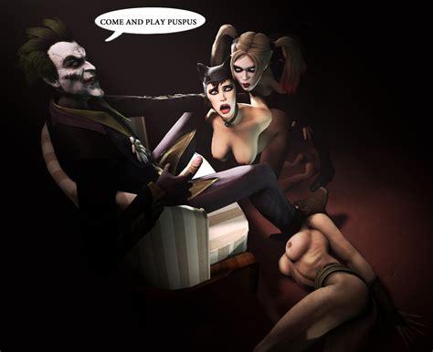 Rule D Girls Artist Request Batman Arkham City Batman Series Bondage Catwoman Chair