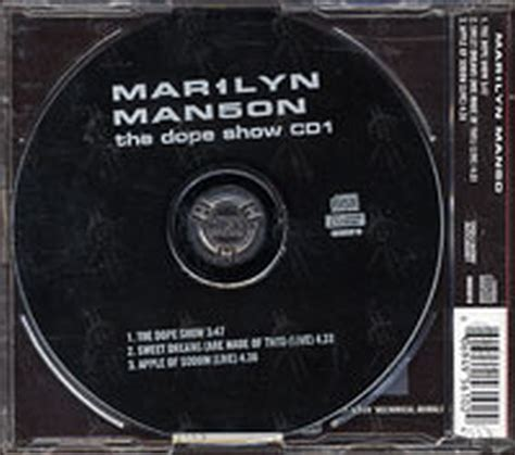 marilyn the dope show cd single ep