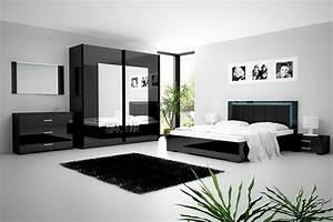 chambre avec meuble noir amazing home ideas With chambre bébé design avec meuble a fleur