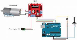 Arduino And L298n Circuit Diagram Dc Motor Control