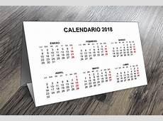 Plantillas para Imprimir Calendarios de Mesa 2018