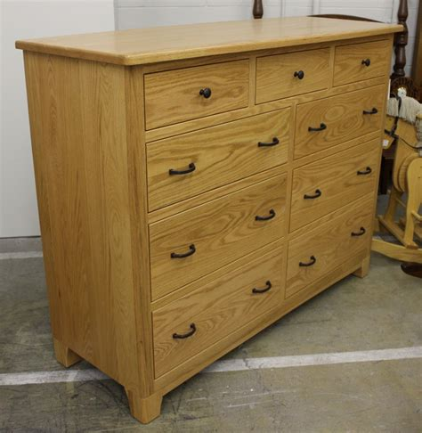 brockton tall dresser  wide amish traditions wv