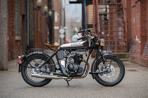 halcyon  motorcycle classic style small motorcycle janus american motorcycles