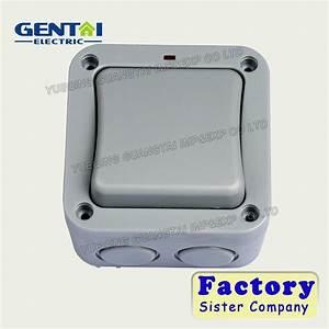 China Bg Type 1 Gang 2 Way Weatherproof Switches Ip66